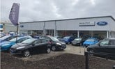 Hendy Group's new Ford showroom in Crawley