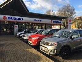 Hendy Group's Suzuki Crawley showroom