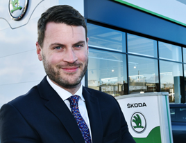 Škoda head of fleet, Henry Williams