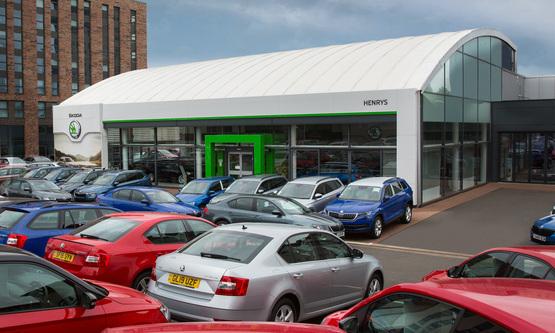 Henrys Cars Skoda Glasgow dealership