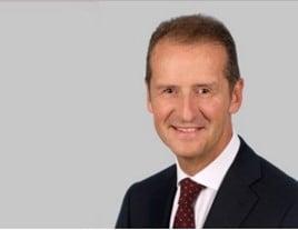 Dr Herbert Diess, chief executive of the Volkswagen Group