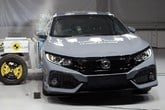The Honda Civic achieved five stars in Euro NCAP's safety tests
