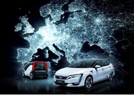 Honda electric vision 2017