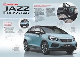 The 2020 Honda Jazz Crosstar Hybrid