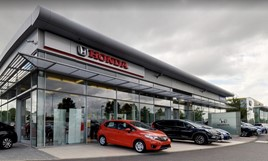 The Reading Honda dealership