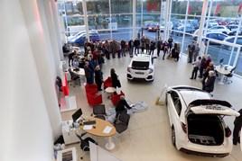 Horizon Honda's Christchurch showroom opening