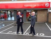 Horsham Car Centre opens its new MG Motor UK showroom