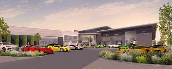 HR Owen Bentley, Lamborghini and Maserati, Hatfield
