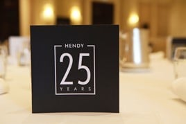 Hendy Group's prestigious 25 Year Club logo