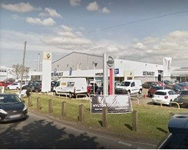 Closing down: Hylton Group's Cheltenham Renault and Dacia franchises
