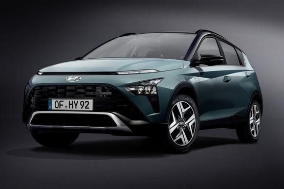The all-new Hyundai Bayon crossover SUV