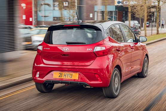 The new Hyundai i10 hatchback