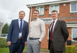 Ian Batcheldor, Adam Trinder and Paddy Chadderton