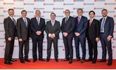 Ichiban award winners (left to right): Paul Van der Burgh, president and managing director Toyota (GB) PLC; Johan van Zyl, president and chief executive; Toyota Motor Europe, Robert Bennett, centre principal RMB Toyota; Jonathan Jarrett, managing director, Oakmere Toyota; Steve Davidson, general manager, Burrows Toyota Barnsley; Dean Cooper, operations director, Burrows Toyota Barnsley; Hiroaki Nanahara, executive vice-president, Toyota Motor Europe; and Richard Balshaw, director customer services Toyota (GB) PLC
