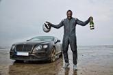 Idris Elba breaks record in Bentley Continental GT Speed