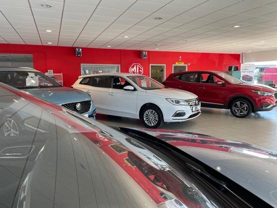 Inside Dicksons of Inverness' new MG Motor UK showroom