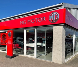 Dicksons of Inverness' new MG Motor UK showroom