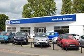 Hawkins Motors' new Ssangyong Motors UK franchised car dealership in Shrewsbury