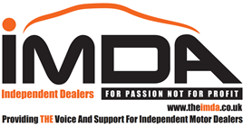 The Independent Motor Dealers Association (IMDA) logo