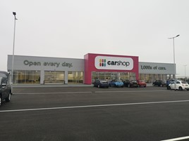 Sytner Group's new CarShop used car supermarket site near Bristol