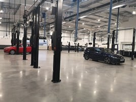 Sytner Group's new CarShop Bristol used car supermarket will be the first to offer drive-in car servicing