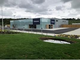 Lipscomb Cars' new Volvo Car UK showroom near Canterbury