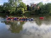 Donnelly Group's fund-raising Dragon Boat racers