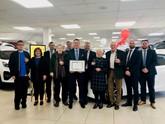 Chippenham Motor Company celebrates its Kia Motors anniversary
