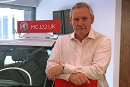 Mark Hallam, MG Motor UK
