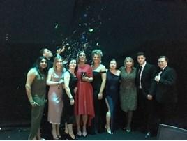 Inchcape team at 2018 Mercedes Benz Awards