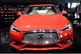 The Infiniti Q60 coupe
