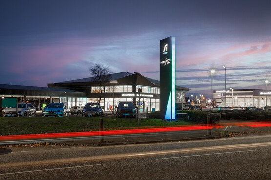 Arnold Clark's newly opened £5m  AFV Innovation Centre in Glasgow