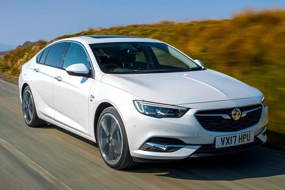 Scotland's used car favourite: Vauxhall Insignia Grand Sport