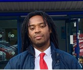 Isaac Barrett, sales manager at Motorpoint's Oldbury car supermarket