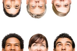 People's heads