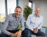 iVendi chief operating officer, Richard Tavernor (left), with chief executive James Tew