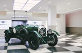 An original Bentley Blower on display at Jack Barclay Bentley