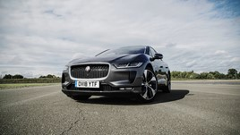 Jaguar I-Pace electric vehicle (EV)
