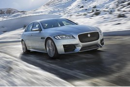 New Jaguar XF AWD