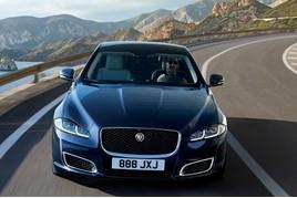 The current Jaguar XJ