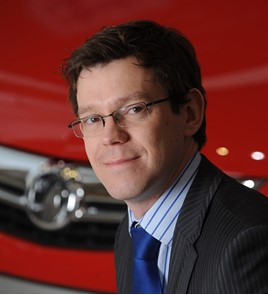 James Taylor, Vauxhall general sales director