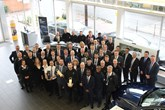 Jardine Motors Group celebrates its Audi Q awards wins at its Amersham facility