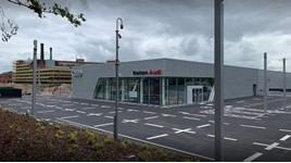 Jardine Motors Group's new Bolton Audi showroom
