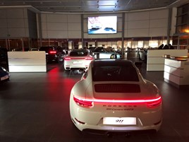Jardine motors group opens new south london porsche centre for Jardine motors
