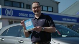 Jason Golder MD Marshams Car Gurus award