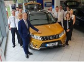JCB Group's new Suzuki GB showroom in Ebbsfleet, North Kent