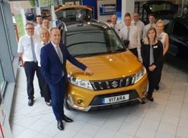 JCB Group's new Suzuki GB showroom in Ebbsfleet, North Kent