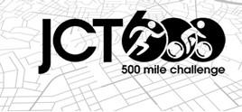 JCT600 500 mile challenge logo