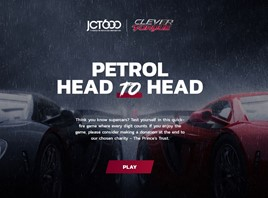 JCT600 Prince's Trust petrol head to head game