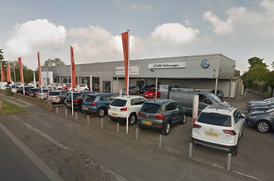 JCT600's former Volkswagen dealership in Wickersley, Rotherham